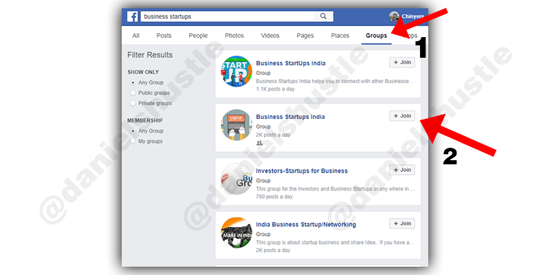 using facebook to make sales as a fiverr seller
