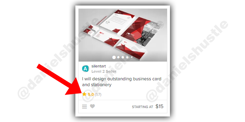 what is a fiverr gig that has good reviews (This is it)